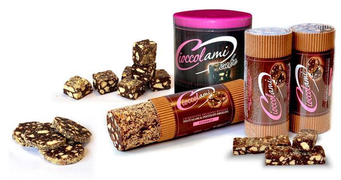 Salchichón de chocolate: todos los productos