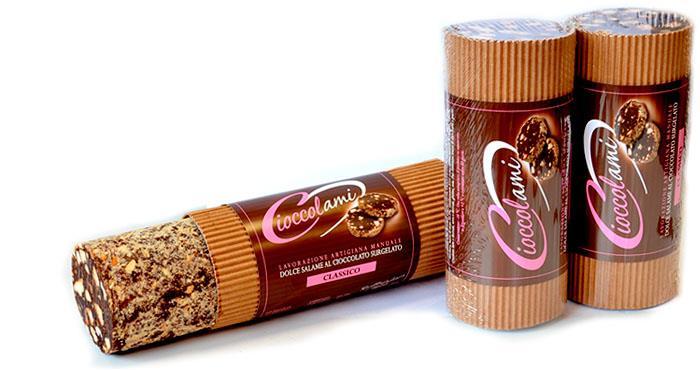 Salchichón de chocolate medio kg