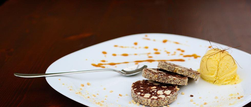 Prueba nuestro salchichón de chocolate