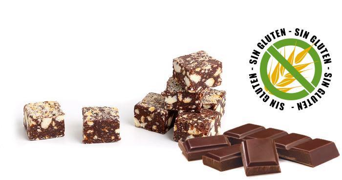Salchichón de chocolate sin gluten