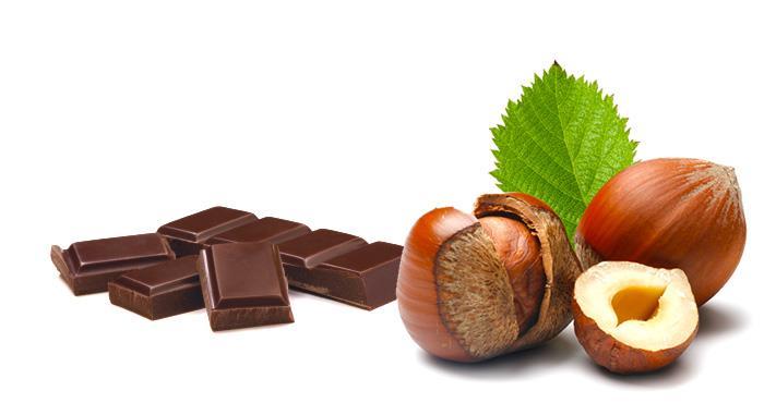 Salchichón de chocolate con avellanas