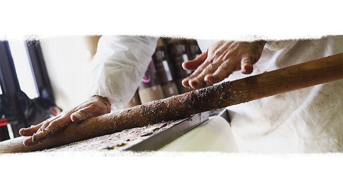 Las fases de elaboración del salchichón dulce