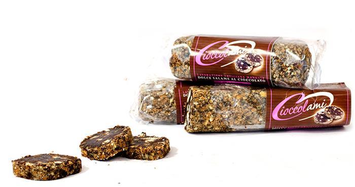 Salchichón de chocolate de 250 g